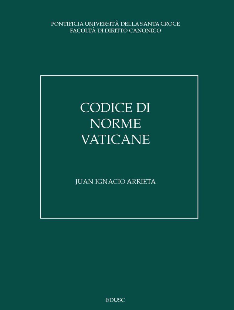 Codice di norme vaticane
